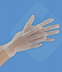 Vinyl glove powdered white