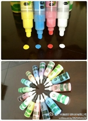 Water chalk marker for dust free classroom