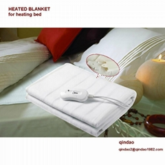polyester Heated Blanket Washable 150x80cm