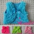 Girl Ruffled Vest Baby Vest in stock