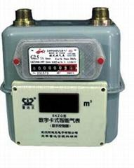 數字卡式智能(閥控)IC卡煤氣表