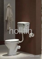 HT6023 cheap price sanitary ware WC water closet ceramic two piece toilet