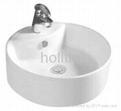 HT421 Porcelainous Art Sink Wash Hand Basin