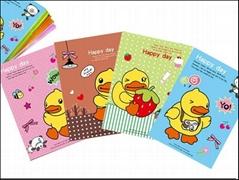 黄色小鸭20入笔记本