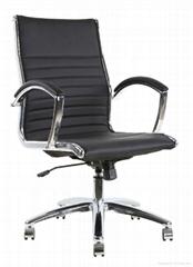 Office metal chrome manager executive boss lady chair ergonomic design tilt