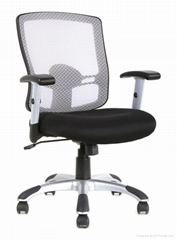 Office mesh plastic chair manager executive boss lady coating sychro tilt ergono