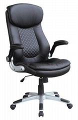 Office chair manager executive boss chair ergonomic design good synthetic leathe
