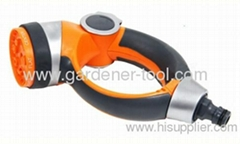 garden water hose nozzle with round handle