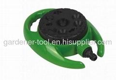 Plastic 9-Dial Function Garden Water Hose Sprinkler