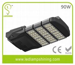 High lumen retrofit 90W LED Street light fixture - bridgelux 45Mil - 9000Lm - me