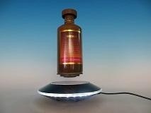 Levitation wine bottle display magnetic suspend stand