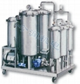 LKJ Series Phosphate Fire-Resistant Oil (Sythetic Oil) Purifier