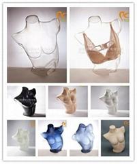 Mannequin Female mannequin New 3D display mannequin torso mannequin bust Factory