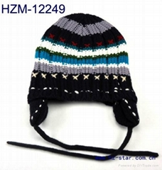 baby hat kid hat knitted hat