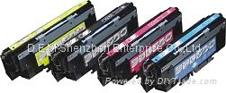 COLOR TONER CARTRIDGE HP Q2670A、HP Q2671A、HP Q2672A、HP Q2673A 1