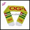 Sell Club Soccer 100% Acrylic scarf