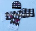 fashion winter jacquard knitting scarf