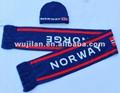 hot sale fashion jacquard knitting scarf and scarf  1
