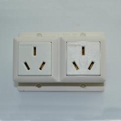 兩位16A空調明裝插座
