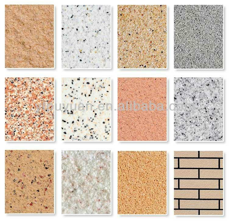 Environment Friendly Liquid Granite Effect Acrylic Stone