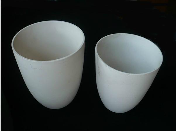 Alumina ceramic crucibles 3
