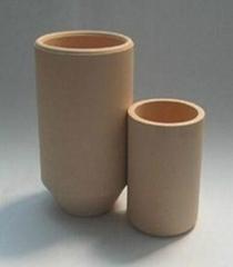 Zirconia ceramic crucibles
