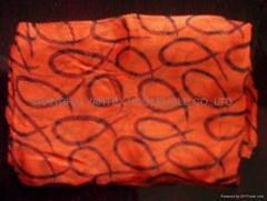 100% silk printed georgette makarama