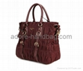 2013 genuine cow leather joint with imported umbrella cloth Handbag GP1207 2