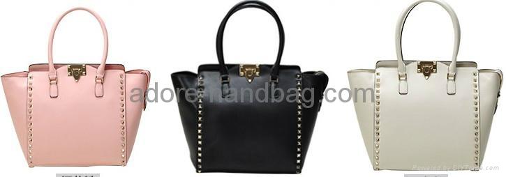 2013 Fashionable Imported Genuine Cow Leather Shoulder and Aslant Handbag G009 1