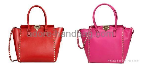 2013 Fashionable Imported Genuine Cow Leather Shoulder and Aslant Handbag G009 2