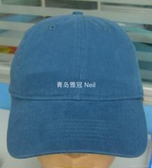时尚绣花牛仔棒球帽