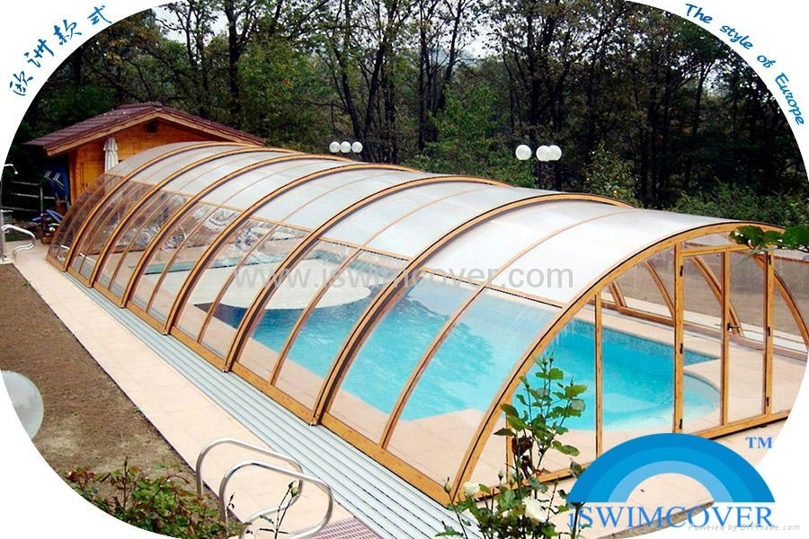 Slide Garden Swimming Pool Cover Nice Design Pool Cover