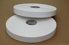High quality nylon taffeta label fabric