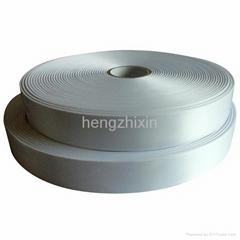 woven edge single side polyester satin label ribbon