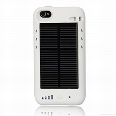 High capacity solar charger battery for iPhone4/4s
