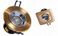 5W LED Down lights COB led downlighting