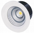 50000 hours 5w cob downlight led with CE