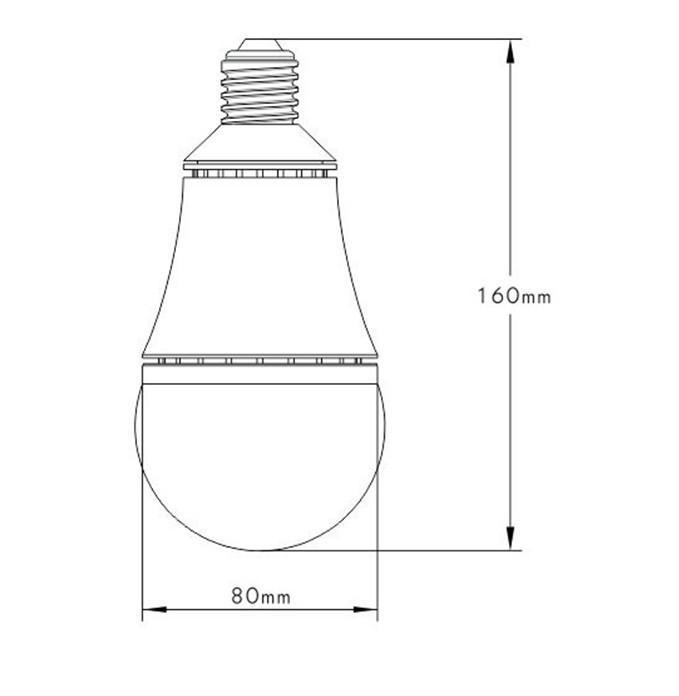 10w  25w  40w e27 cob led 1380lm 100-240v 5000k 50000h elb bulb lamp - zt  a0415