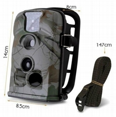 HC5210A-12MP Hunting Game Wildlife Camera With 12 Operating Languages