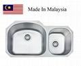 3218A  CUPC stainless steel kitchen sink