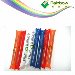 High Quality Plastic Balloon Cheering Stick for the competition games