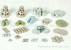 3-30mm nickle ndfeb magnet