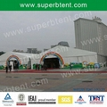 outdoor fire resistant tent for