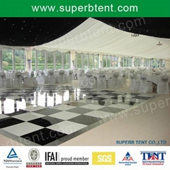 luxury outdoor catering tent