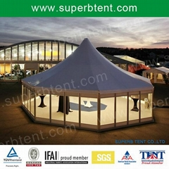 polygon high peak tent for rally