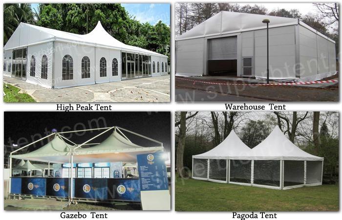 white pvc gazebo tent for passageway 3