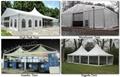 high class high peak wedding tent 3