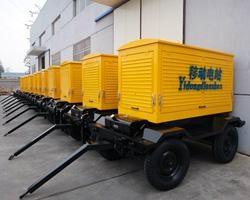 四轮移动拖车式柴油发电机组 2