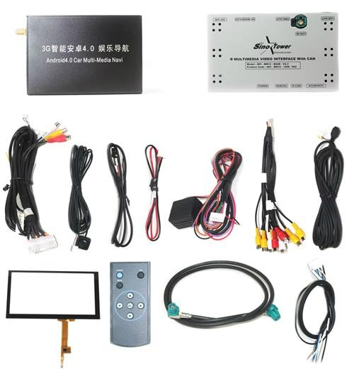 Car Multimedia Interface Video with Android4.0 GPS Navigation Box (RGBS) 2