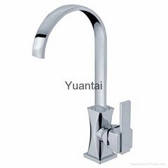 zinc kitchen faucet